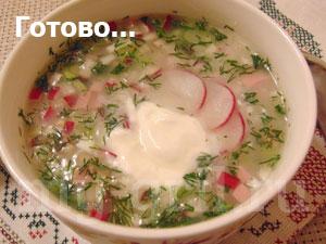окрошка на сыворотке рецепт с фото пошагово
