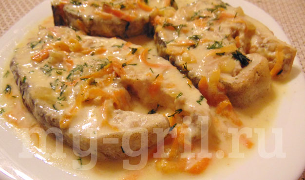 Треска в духовке в сметанном соусе рецепт