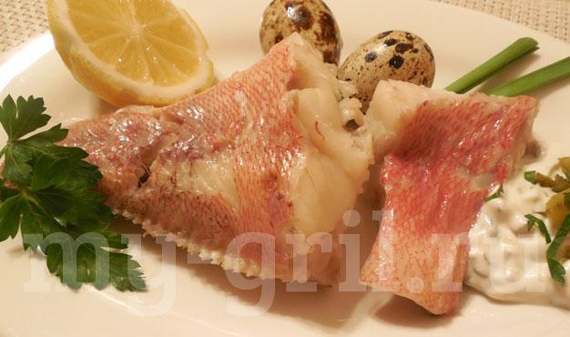 как сварить морского окуня вкусно