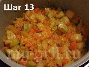 овощное рагу рецепт с картошкой в мультиварке