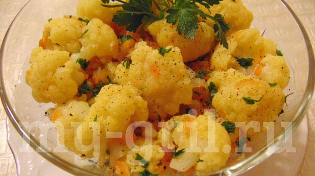 Диетические блюда из капусты в мультиварке